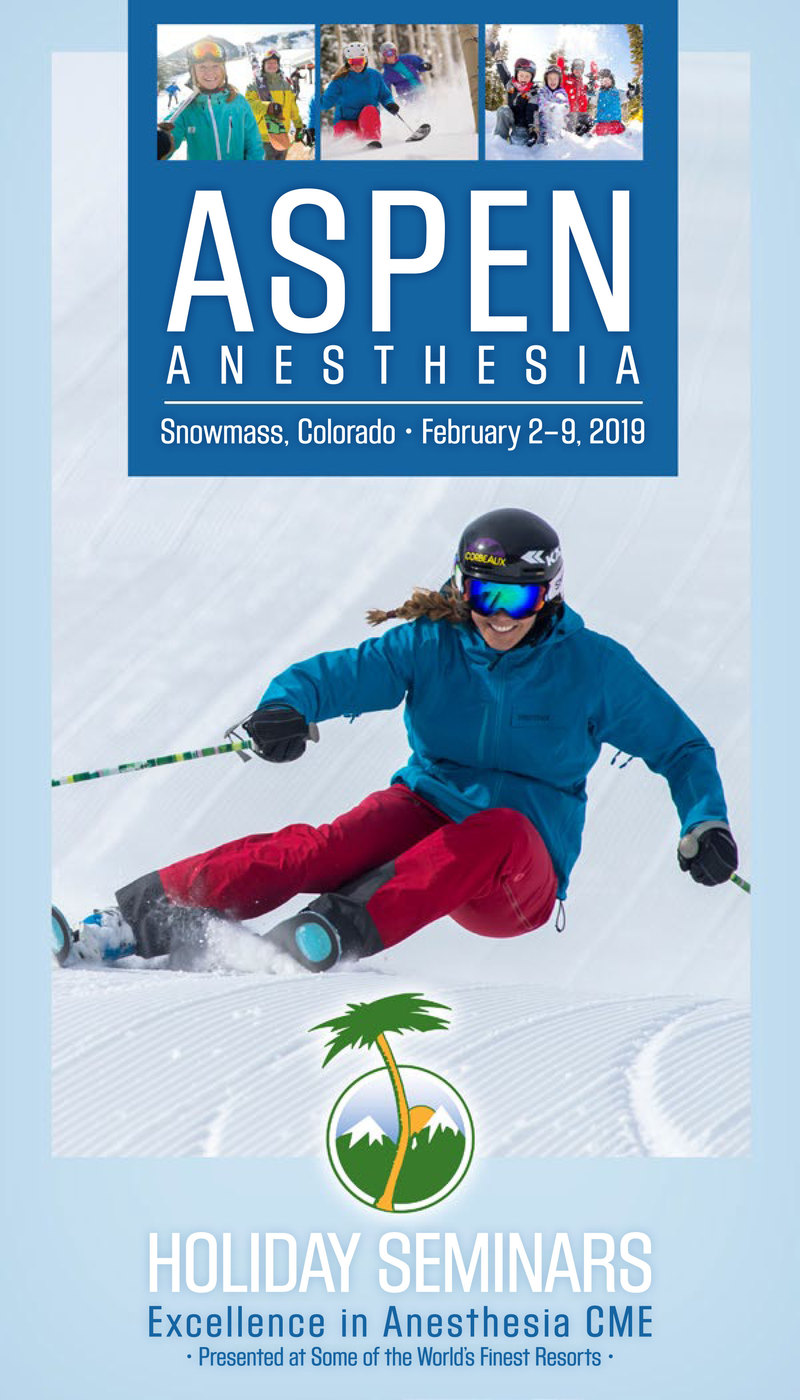Download the 2019 Aspen Anesthesia Brochure