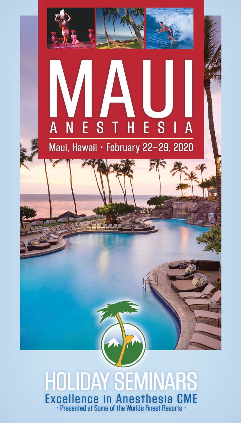 Download the 2020 Maui Anesthesia Brochure