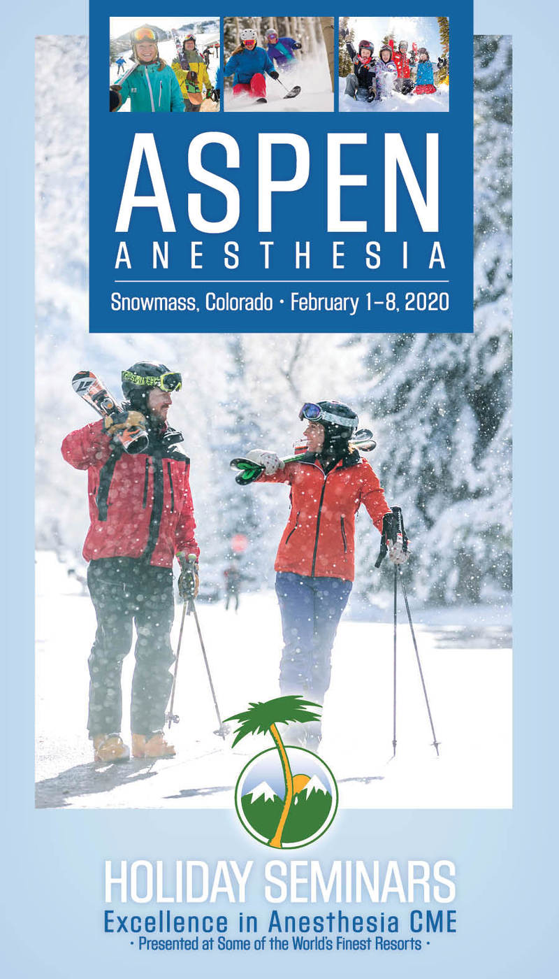 Download the 2020 Aspen Anesthesia Brochure